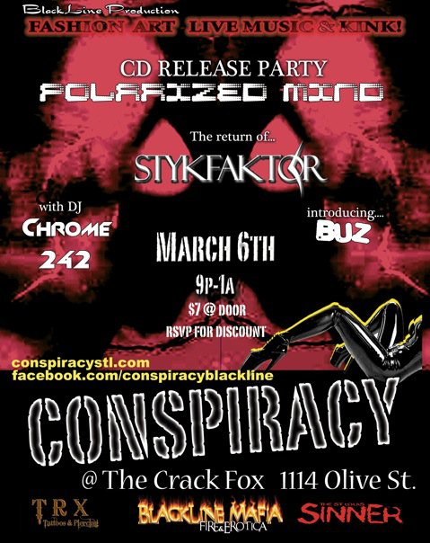 Conspiracy Flier
