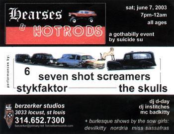 Hearses & Hotrods 6-7-2003