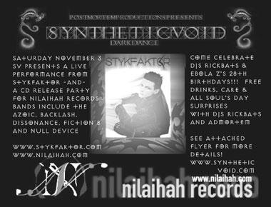 Synthetic Void 11-2-2002